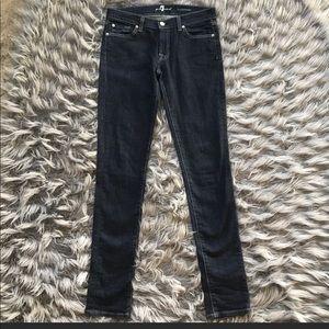 7 FAM Roxanne Skinny Jeans Sz 29